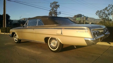 1962 Chevrolet Impala Convertible for sale