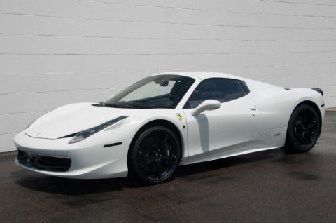 2012 Ferrari 458 2dr Convertible for sale