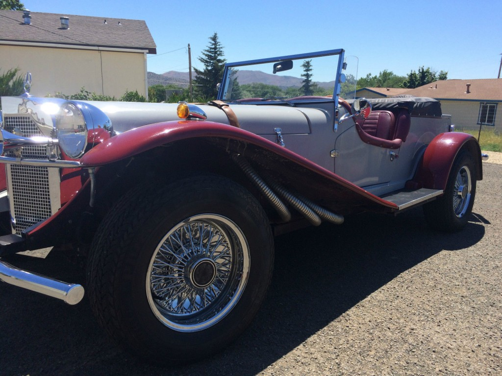 1929 mercedes benz replica by gazelle ssk for sale for Mercedes benz gazelle