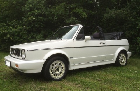 1986 VW Golf 1 Karmann Cabriolet for sale