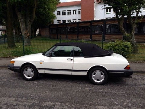 1991 Saab 900 Cabriolet, 2,1 L for sale