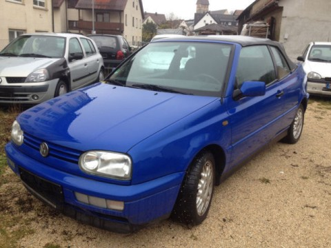 1997 Volkswagen Golf Cabrio 2.0 for sale