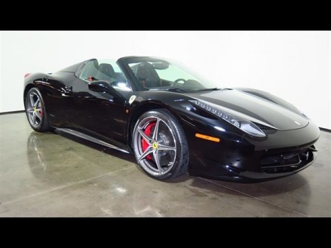 2014 Ferrari 458 Spider for sale