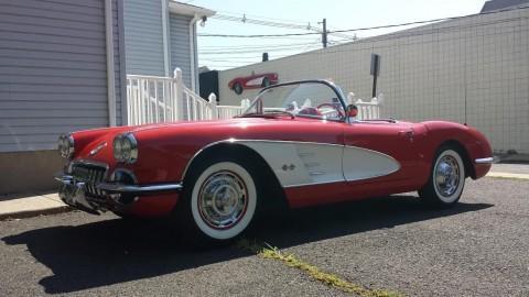 1959 Chevrolet Corvette Convertible Dual Quad 4 Speed 283/270hp for sale