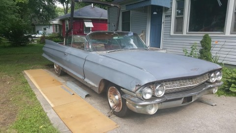 1961 Cadillac Convertible Series 62 for sale