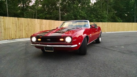 1968 Chevrolet Camaro 350 SS convertible for sale