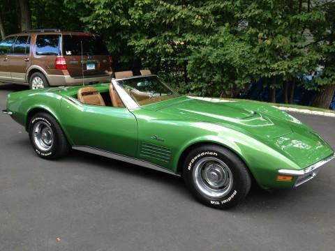 1972 Chevrolet Corvette Stingray LT 1 Convertible for sale