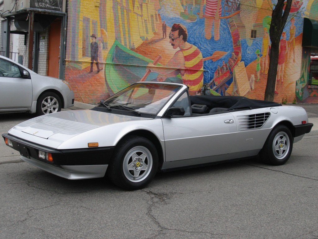 1985 ferrari mondial quattrovalvole convertible ferrari. Black Bedroom Furniture Sets. Home Design Ideas