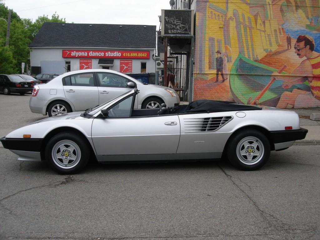 1985 Ferrari Mondial Mondial Quattrovalvole convertible