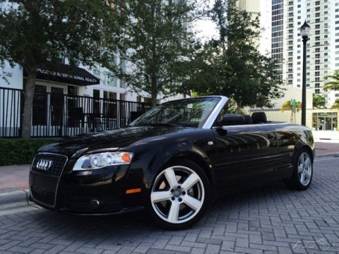 2007 Audi A4 2.0T Quattro S LINE CONVERTIBLE for sale