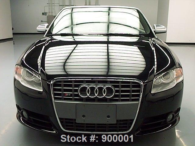 2009 Audi S4 Quattro Convertible