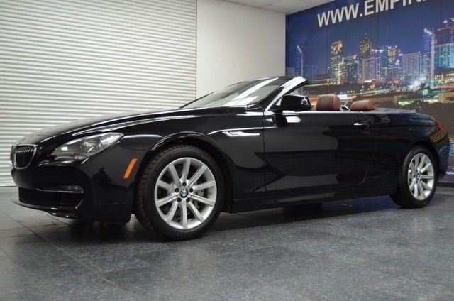 2012 Bmw 6 Series 640i Convertible For Sale