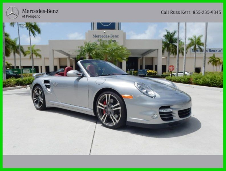 2012 Porsche 911 Turbo Awd Convertible For Sale