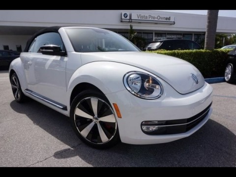 2013 Volkswagen Beetle New TURBO Convertible for sale
