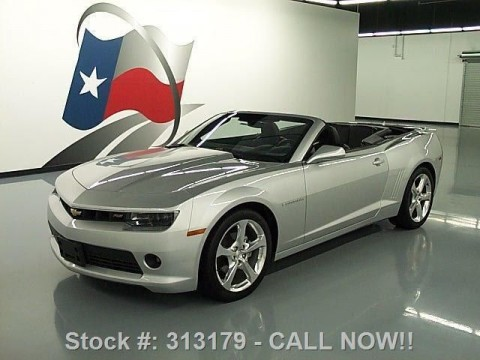2014 Chevrolet Camaro 2LT RS Convertible for sale