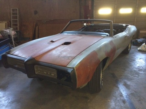 1969 Pontiac GTO Convertible for sale