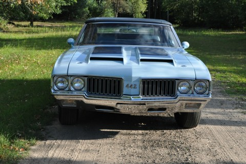 1970 Oldsmobile Cutlass 442 W30 Convertible for sale