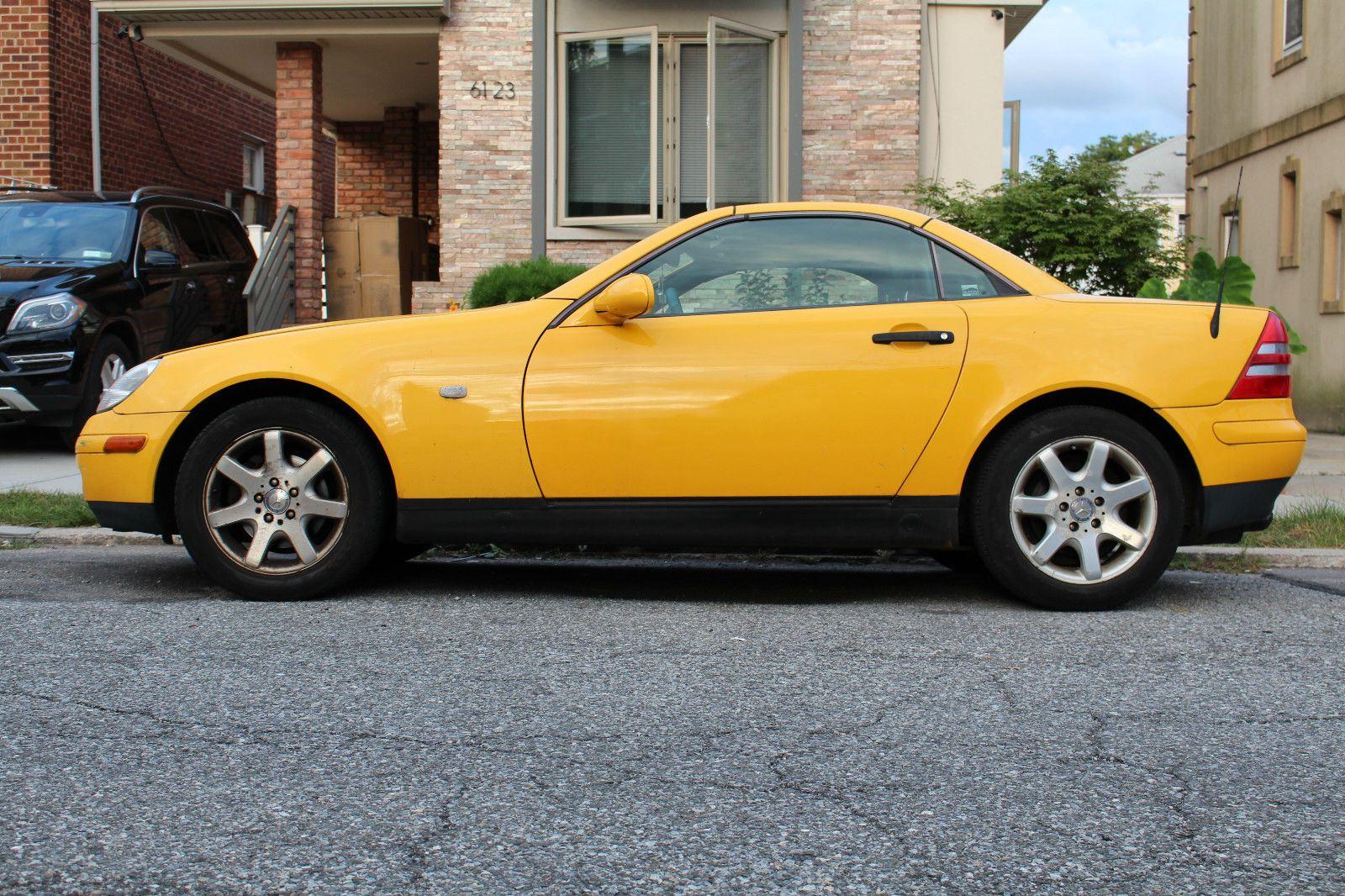 1998 mercedes benz slk230 hard top for sale for Mercedes benz slk roadster for sale