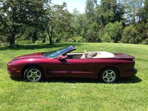 2000 Pontiac Firebird Convertible for sale