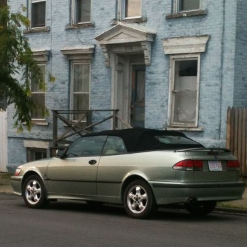 2001 Saab 9-3 SE convertible for sale