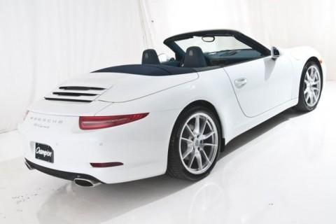 2014 Porsche 911 Carrera Convertible for sale