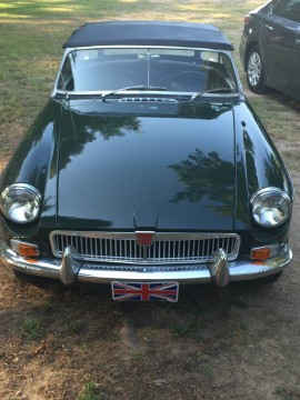 1966 MG MGB Roadster in British Racing Green for sale