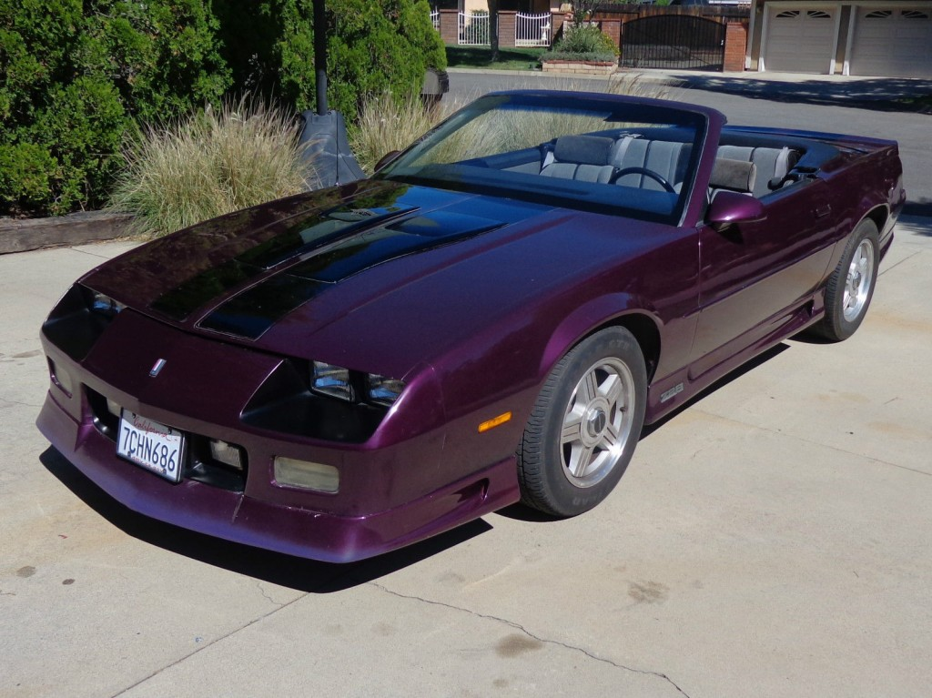 1992 chevrolet camaro z28 5 0 tpi convertible for sale. Black Bedroom Furniture Sets. Home Design Ideas