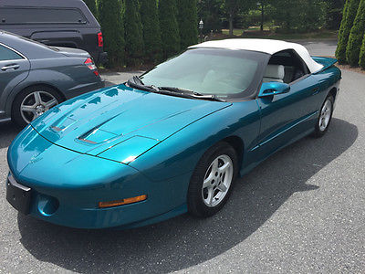 1996 Pontiac Firebird Trans Am Convertible for sale