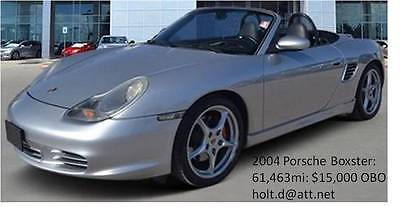 2004 Porsche Boxster for sale