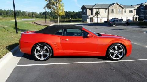 2011 Chevrolet Camaro 2LT Convertible for sale