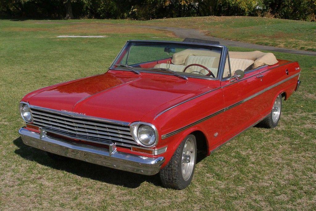 1963 Chevrolet II Nova Convertible SS 1963
