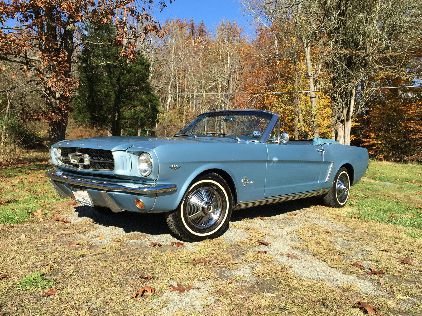 1965 ford mustang convertible 289 v8 for sale. Black Bedroom Furniture Sets. Home Design Ideas