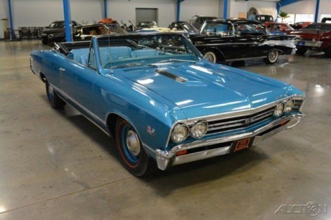 1967 Chevrolet Chevelle SS Convertible Automatic 396ci V8 325 HP Correct Numbers Matching for sale