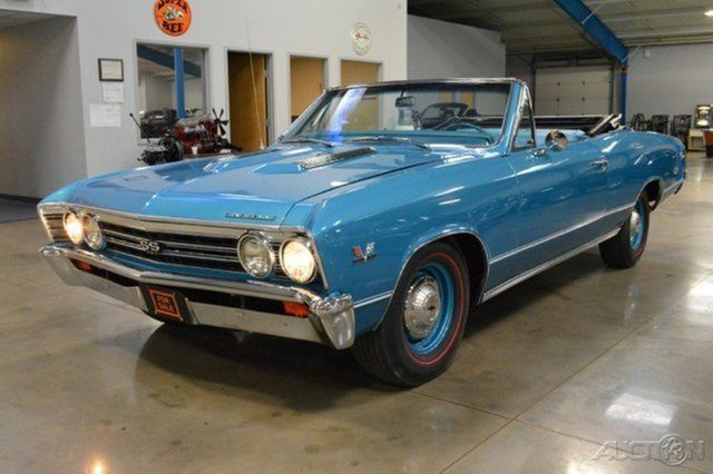 1967 Chevrolet Chevelle SS Convertible Automatic 396ci V8 325 HP Correct Numbers Matching