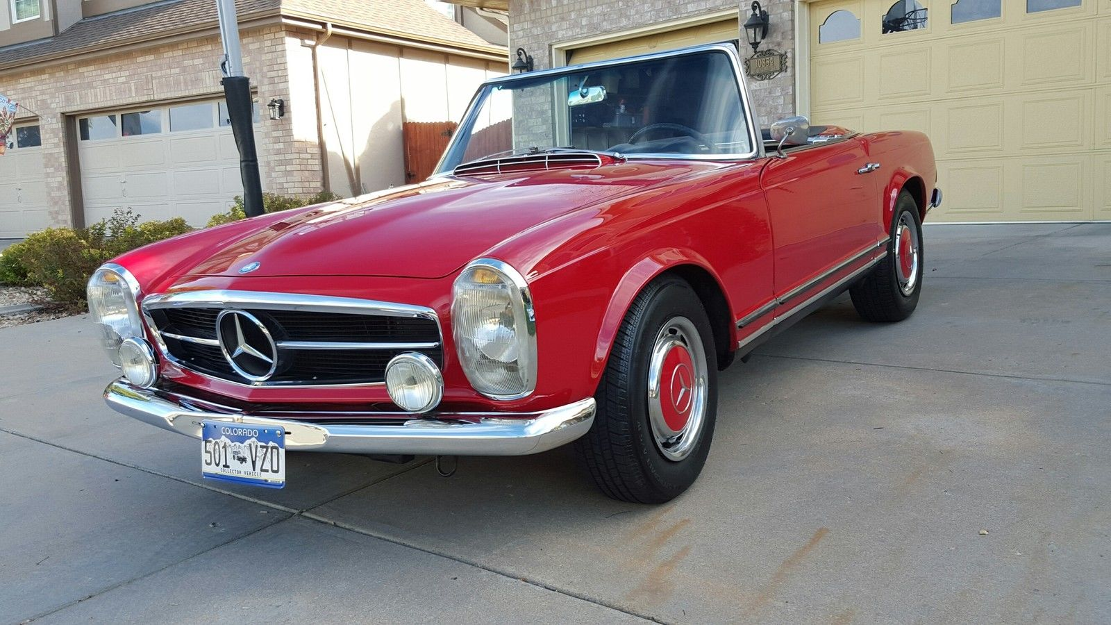 1967 mercedes benz 250 sl class convertible for sale