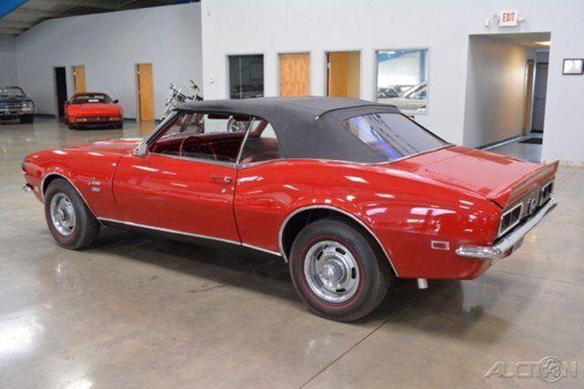 1968 Chevrolet Camaro SS/RS Convertible 396 Big block