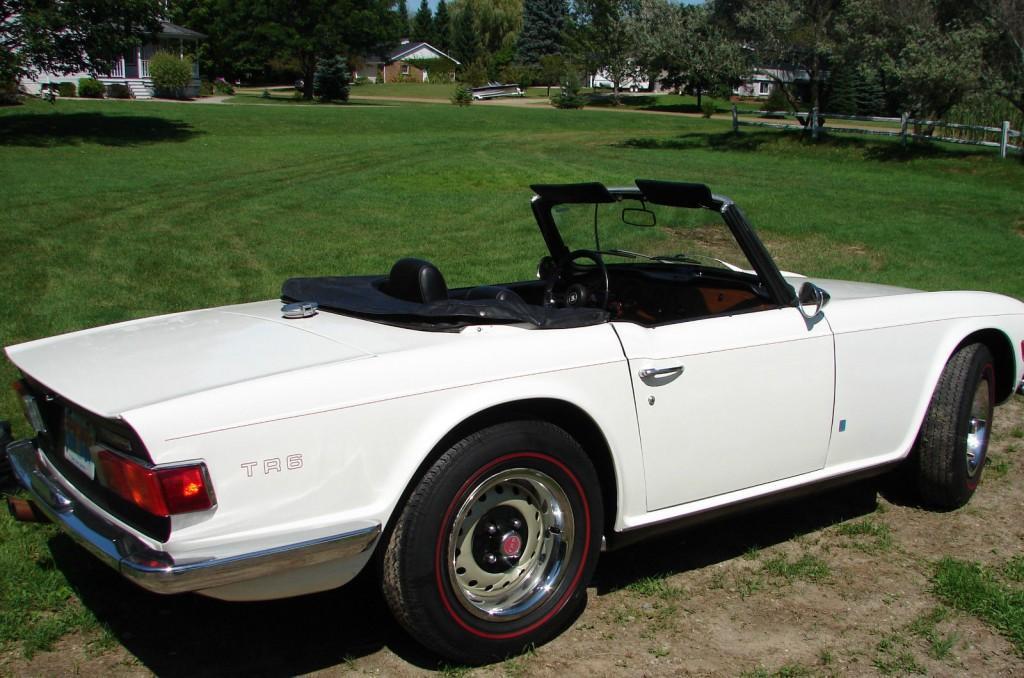1971 Triumph TR 6 Convertible