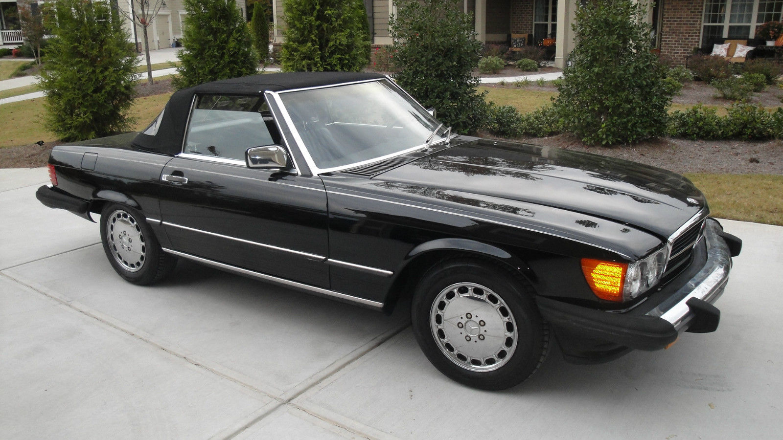 1987 mercedes benz sl class 560sl convertible for sale for Mercedes benz cabriolet for sale