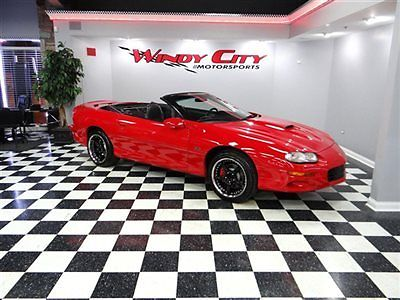 2001 Chevrolet Camaro Z28 SS Convertible Ram Air California Car Z06 Wheels for sale