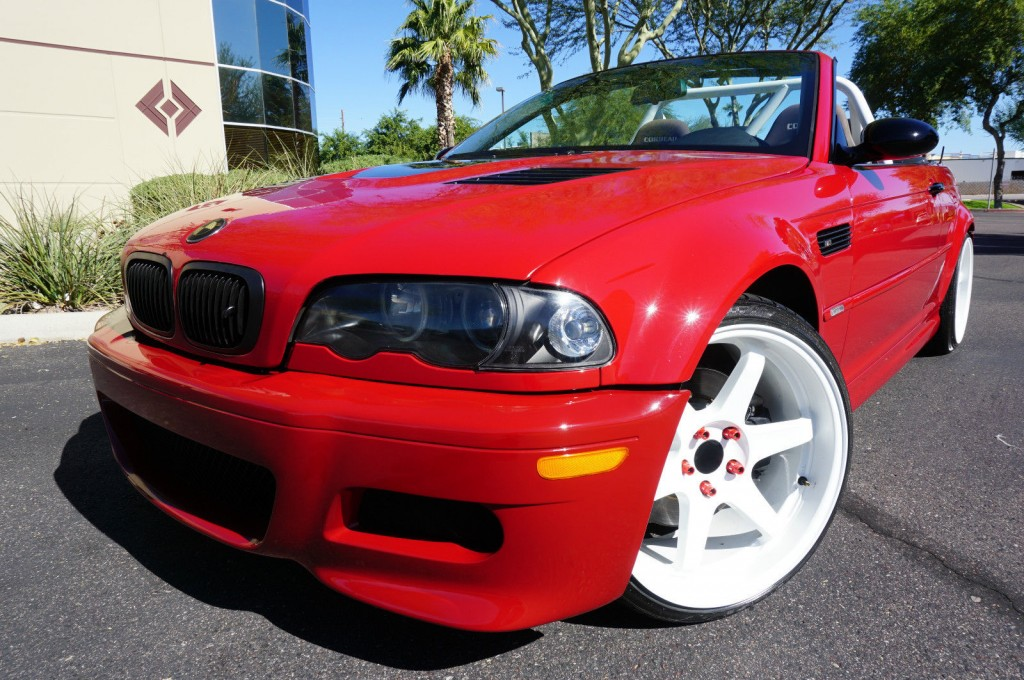 2004 BMW M3 Convertible 6 Speed