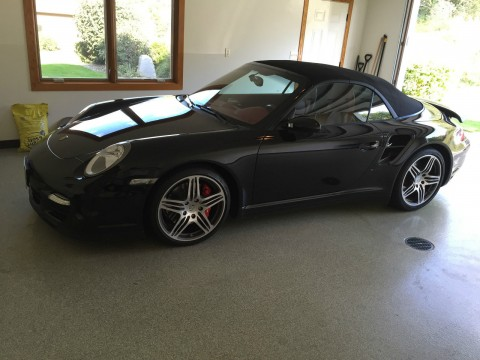 2009 Porsche 911 Turbo Cabriolet Black for sale
