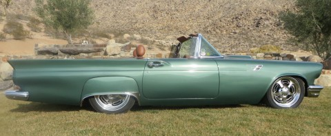 1957 Ford Thunderbird Custom Resto mod street rod convertible for sale