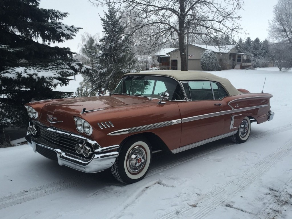 1958 chevy impala convertible for sale. Black Bedroom Furniture Sets. Home Design Ideas
