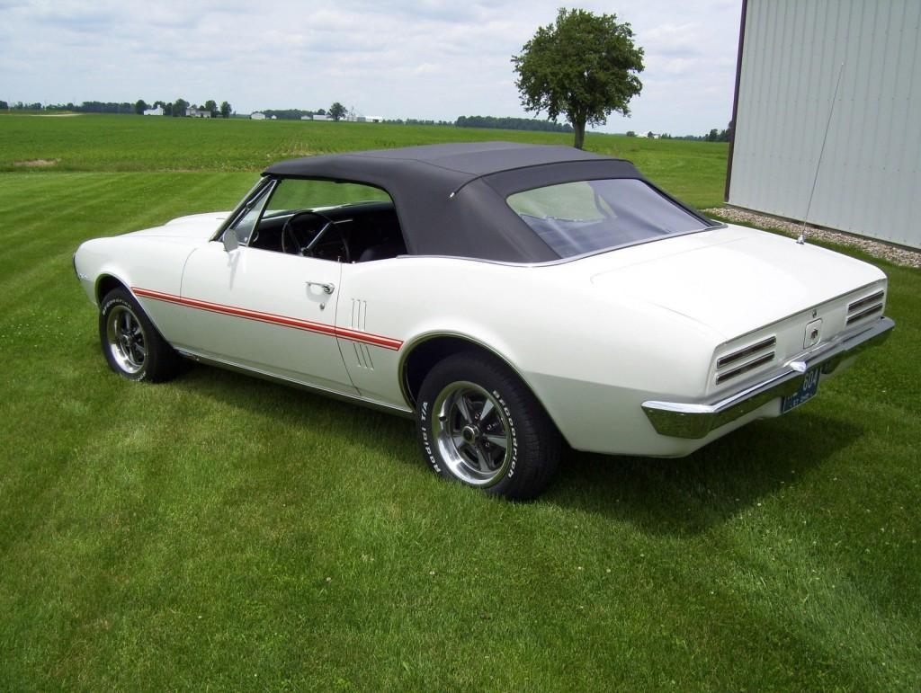1967 Pontiac Firebird Convertible 3 8l Sprint For Sale