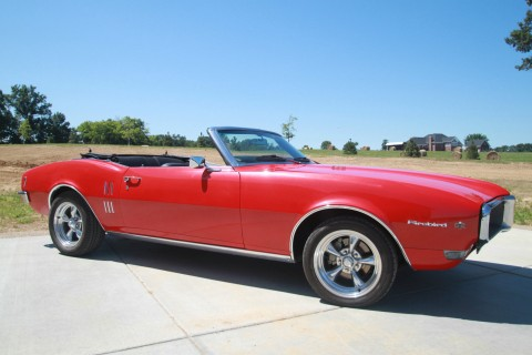 1968 Pontiac Firebird Convertible for sale