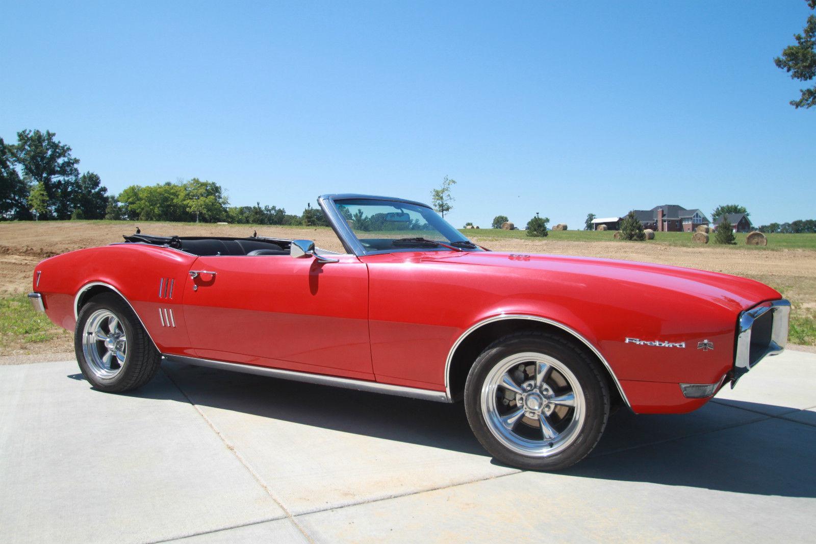 1968 Pontiac Firebird Convertible For Sale