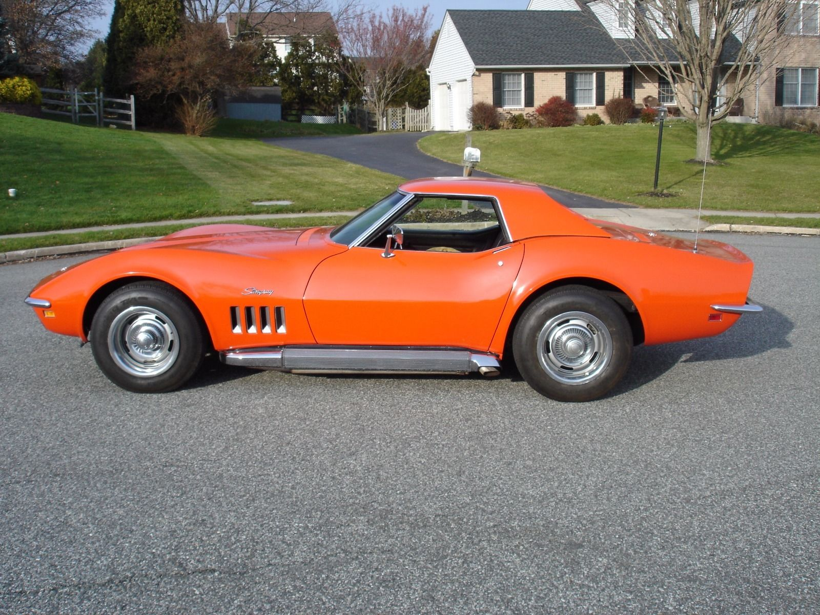1969 Chevrolet Corvette Convertible L46 350/350 Numbers ...
