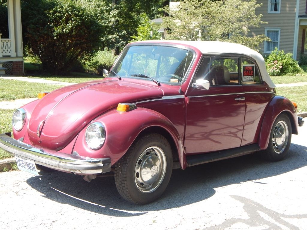 1978 vw super beetle convertible karmann edition for sale. Black Bedroom Furniture Sets. Home Design Ideas