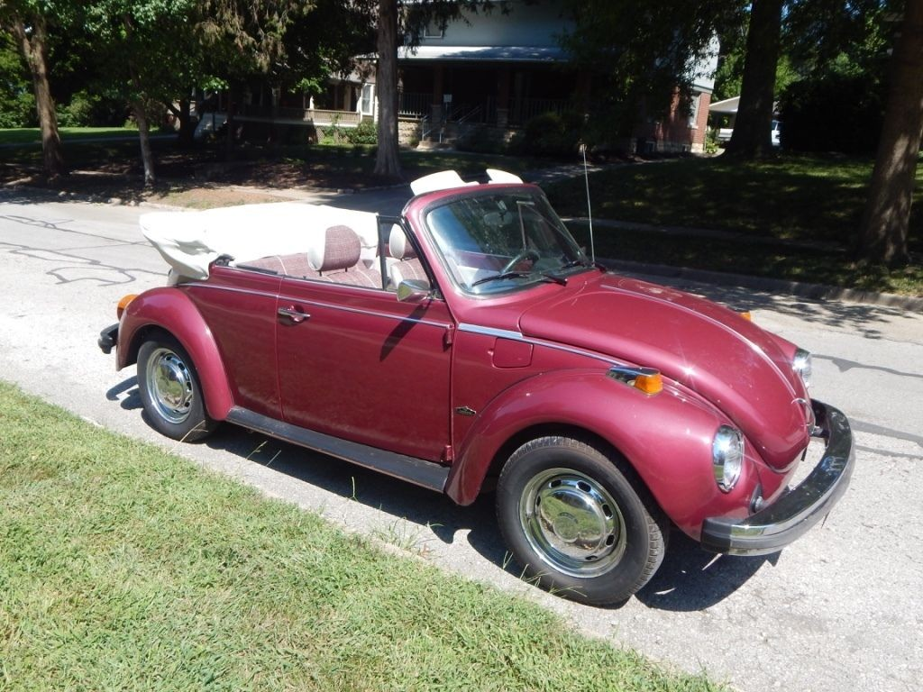 1978 VW Super Beetle Convertible   Karmann Edition