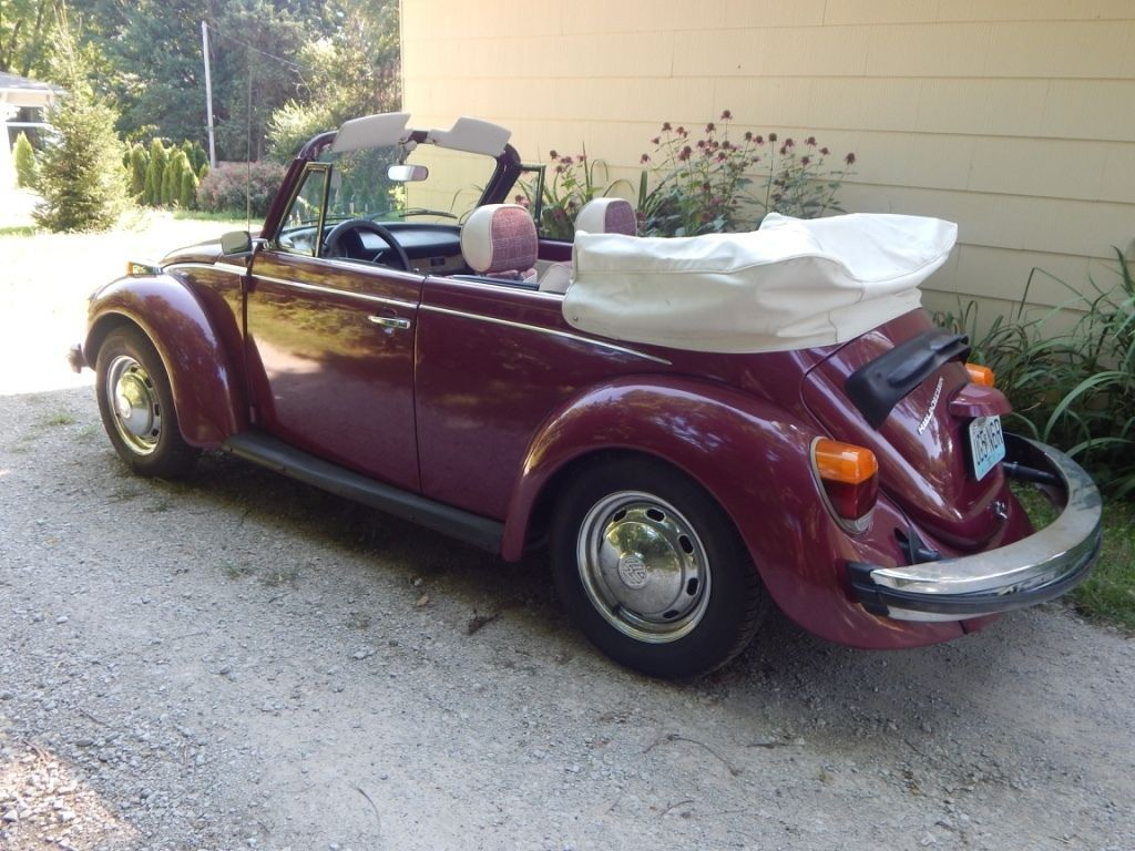1978 VW Super Beetle Convertible   Karmann Edition
